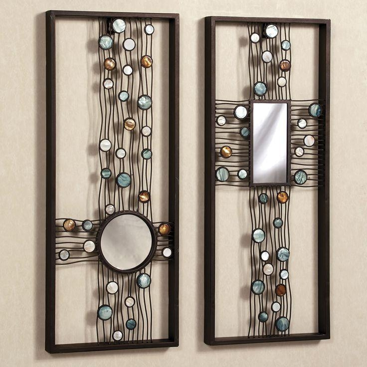 19 Best Wall Art Images On Pinterest | Metal Walls, Metal Wall Art With Regard To Mirrored Frame Wall Art (Image 1 of 20)