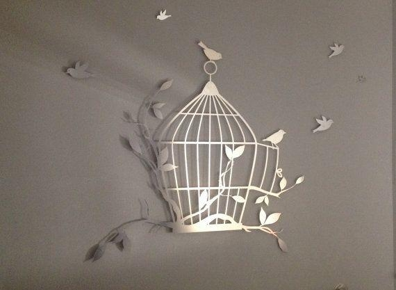 Art Décor: 20 Collection Of Flying Birds Metal Wall Art