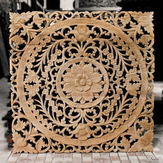 195 Best Carving Images On Pinterest | Carved Wood, Wood Art And With Balinese Wall Art (View 13 of 20)