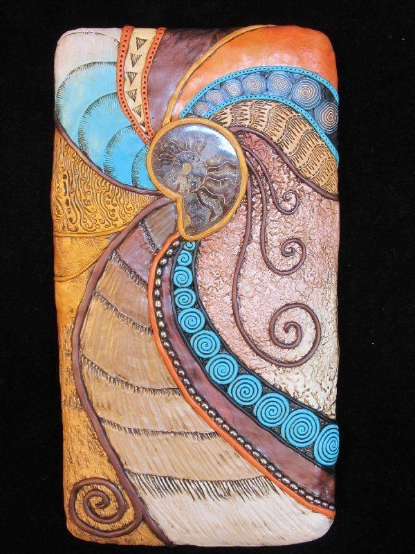 199 Best Mosiacs And Tiles Ideas Images On Pinterest   Clay Tiles Regarding Polymer Clay Wall Art (View 15 of 20)