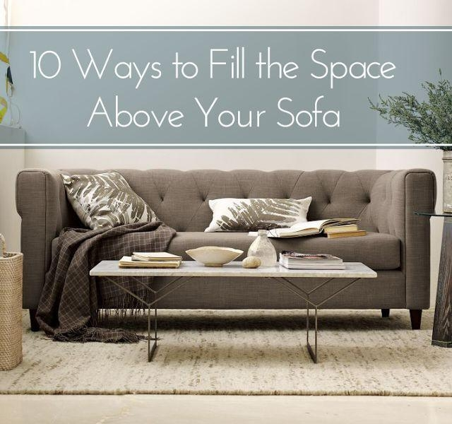 199 Best Wall Behind The Sofa Images On Pinterest | Live For Sofa Size Wall Art (Image 1 of 20)