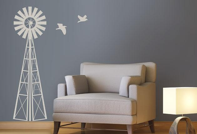 1M Windmill – Twiggy Throughout Twiggy Vinyl Wall Art (Image 3 of 20)
