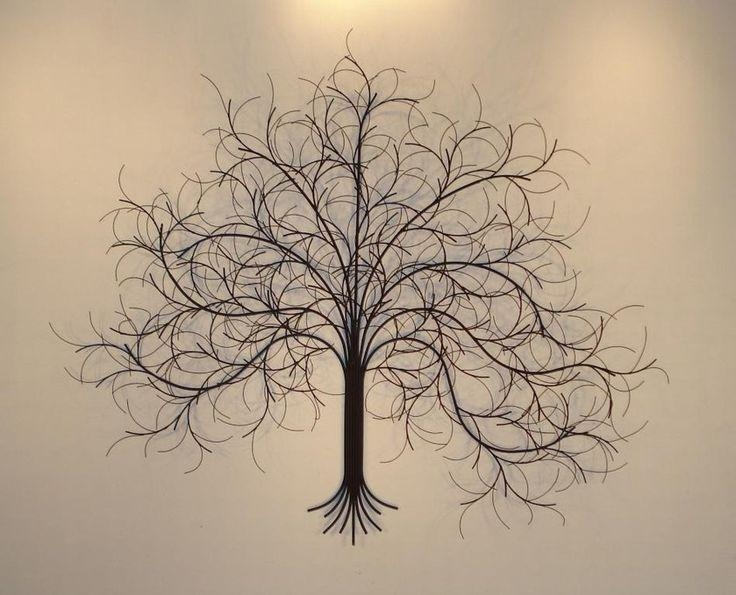 20 Best Art Images On Pinterest | Metal Walls, Metal Tree Wall Art Within Bronze Tree Wall Art (View 6 of 20)