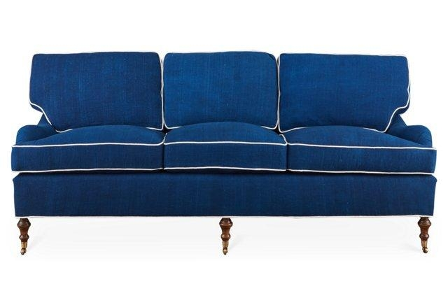 20 Best Blue Sofas – Stylish Blue Couch Ideas Regarding Blue Sofas (Image 1 of 20)