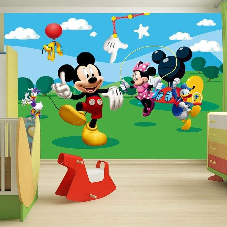 20 Best Mickey Mouse Images On Pinterest | Mickey Mouse Parties With Mickey Mouse Clubhouse Wall Art (Image 3 of 20)