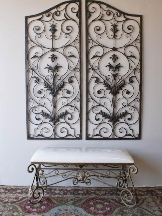 20 Best Outdoor Wall Art Images On Pinterest | Outdoor Walls In Wrought Iron Garden Wall Art (View 15 of 20)