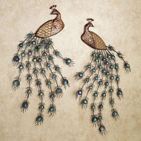 20 Best Pretty As A Peacock Images On Pinterest | Peacock Decor With Jeweled Peacock Wall Art (Image 1 of 20)