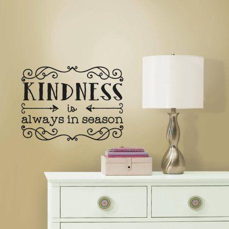 20 Best Quote Wall Art Images On Pinterest | Quote Wall Art Pertaining To Walmart Wall Stickers (Image 2 of 20)