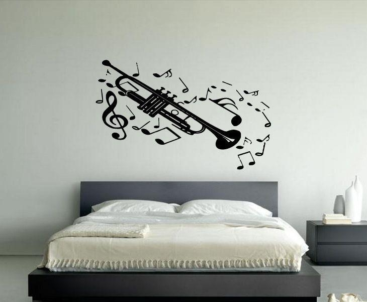 20 Best Wall Music Stickers Images On Pinterest | Murals, Sticker Within Tim Burton Wall Decals (Image 1 of 20)