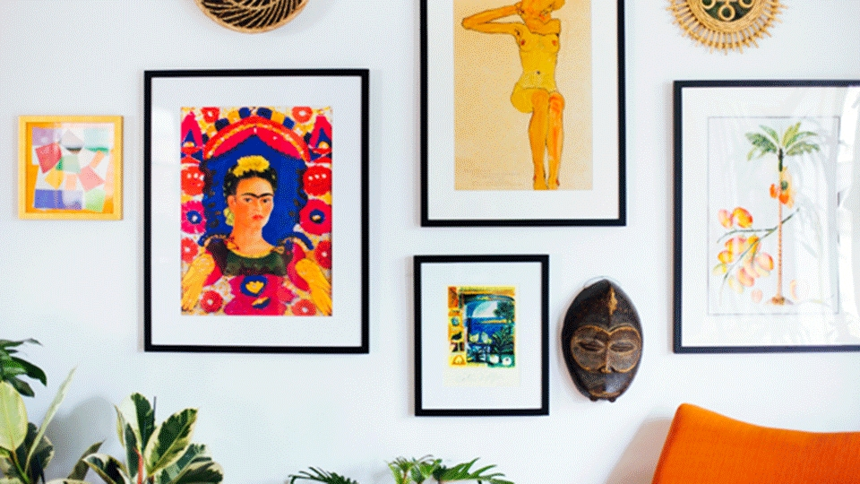 20 Bright Pieces Of Wall Art To Warm Up Your Home | Stylecaster Throughout Vibrant Wall Art (View 9 of 20)