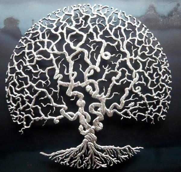 201 Best Tree Of Life Images On Pinterest | Mandalas, Tree Of Life Inside Celtic Tree Of Life Wall Art (Image 2 of 20)