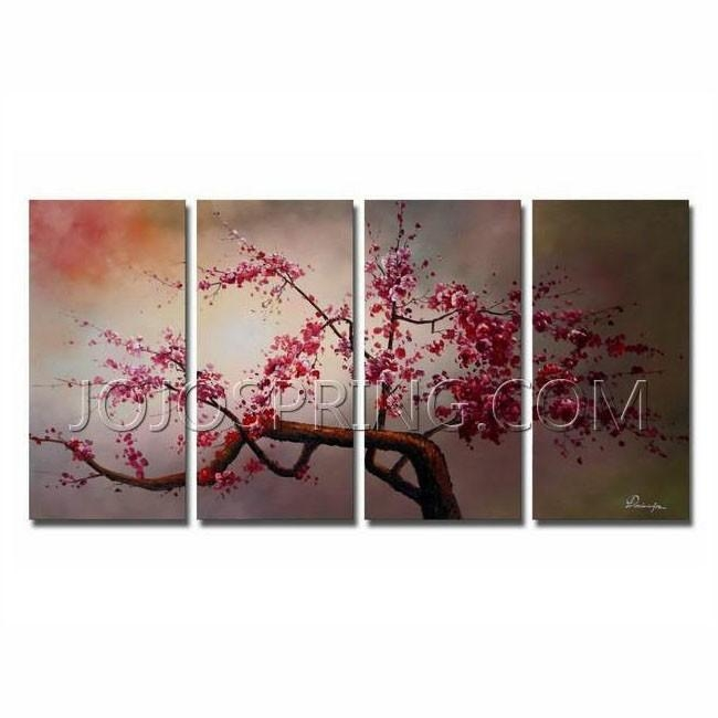 2012 Year End Sales Online Now, Up To 25% Off – Jojospring In 4 Piece Canvas Art Sets (Image 1 of 20)