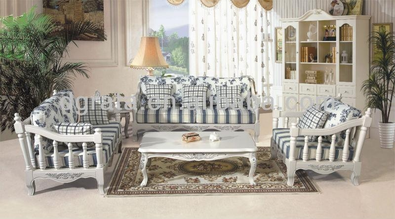 2013 French Country Style Sofa Is Madeimported Rubber Wood And Throughout Country Style Sofas (View 2 of 20)