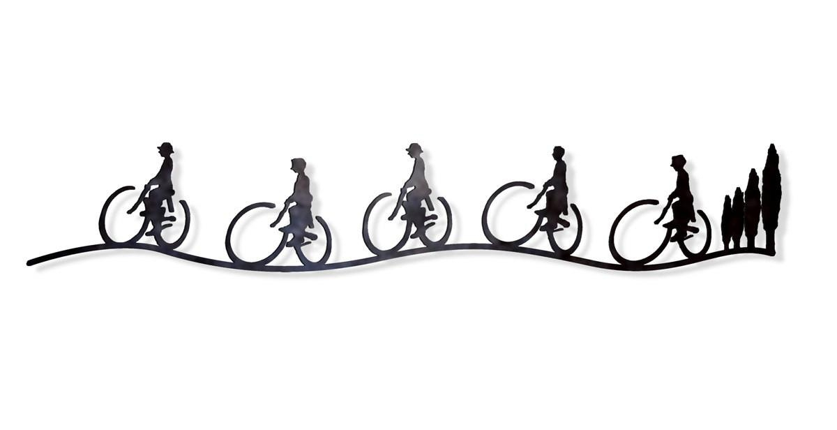 2014 Outdoor Decor Ideas Bicycle Wall Art Metal Wall Hanging With Inside Bicycle Wall Art Decor (Image 1 of 20)