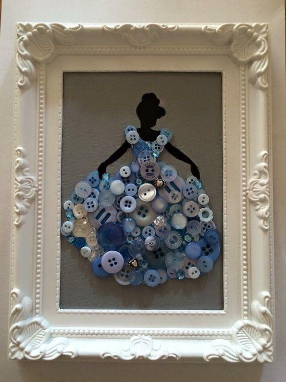 206 Best Disney Crafts Images On Pinterest | Disney Crafts, Disney Pertaining To Disney Princess Framed Wall Art (Image 3 of 20)
