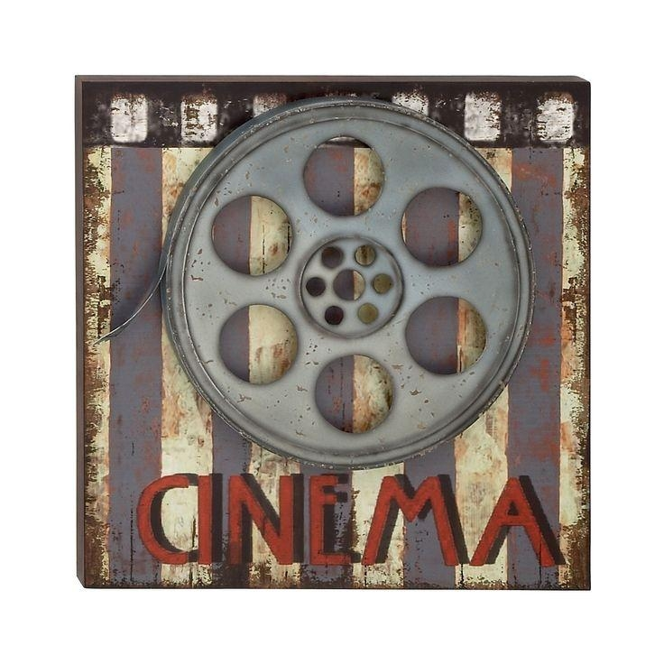 21 Best Movie Theater Themed Room Images On Pinterest | Movie Inside Film Reel Wall Art (Image 2 of 20)