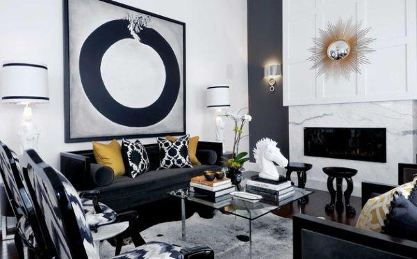 21 Cool Accent Pillows For Sofa – Inspirationseek For Black Sofas For Living Room (Image 1 of 20)