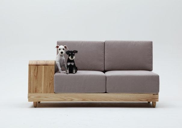 21 Furniture Ideas For Pet Lovers And Their Furry Friends | Bored Throughout Cat Tunnel Couches (Image 2 of 20)