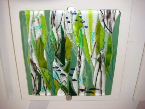 210 Best Fused Images On Pinterest | Fused Glass, Glass Art And Throughout Fused Glass Wall Art Hanging (Image 3 of 20)