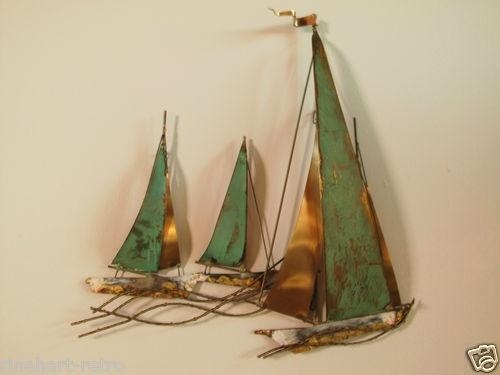 22 Best Esculturas De Pared Images On Pinterest | Sculptures In Sailboat Metal Wall Art (Image 2 of 20)