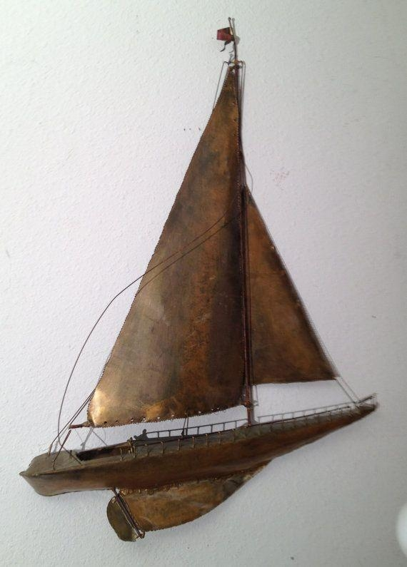 22 Best Esculturas De Pared Images On Pinterest | Sculptures Inside Metal Sailboat Wall Art (Image 1 of 20)
