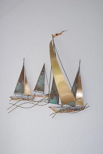 22 Best Esculturas De Pared Images On Pinterest | Sculptures With Regard To Sailboat Metal Wall Art (Image 5 of 20)