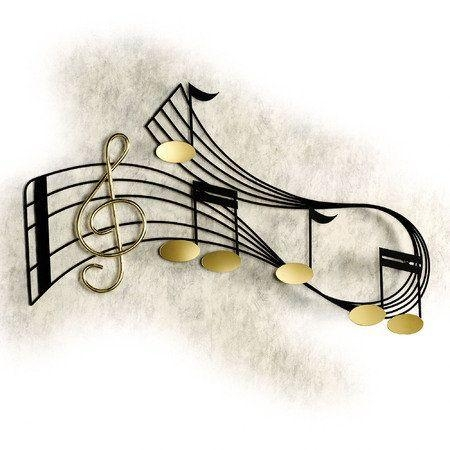 22 Best Jazz Wall Sculpturesculptures Direct Images On For Metal Music Notes Wall Art (View 13 of 20)