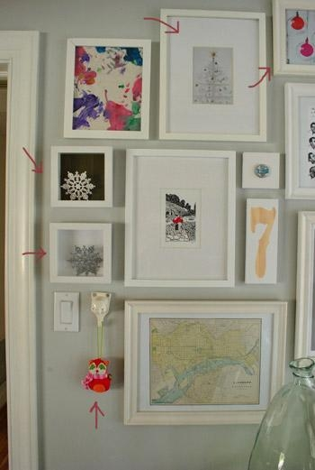 22 Easy (And Free!) Holiday Art Ideas | Young House Love Pertaining To Wall Art Ideas For Hallways (View 10 of 20)
