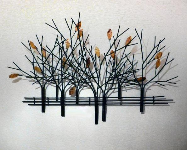 221 Best Metal Wall Art Images On Pinterest | Metal Walls, Metal With Metal Wall Art Trees And Branches (Image 2 of 20)