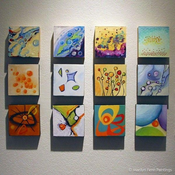 221 Best Mini Canvas Art Images On Pinterest | Mini Canvas Art Intended For Small Canvas Wall Art (View 3 of 20)