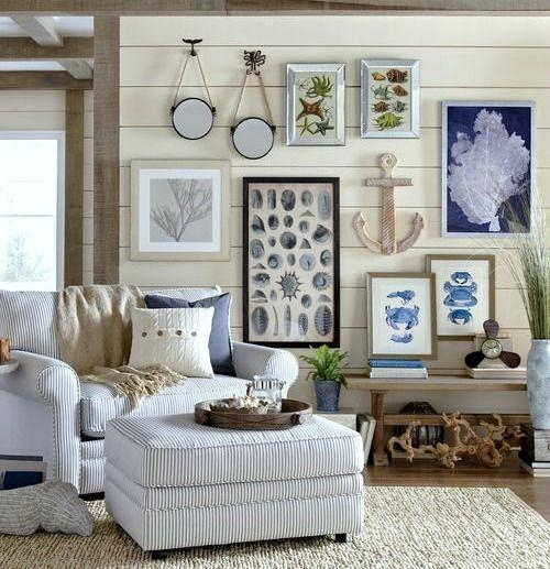 2240 Best Barb's Beach House And Coastal Decor Ideas Images On Pertaining To Beach Cottage Wall Decors (Image 1 of 20)