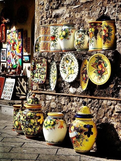 225 Best Art Of Italian Ceramics Images On Pinterest | Italian With Italian Ceramic Wall Art (Image 2 of 20)