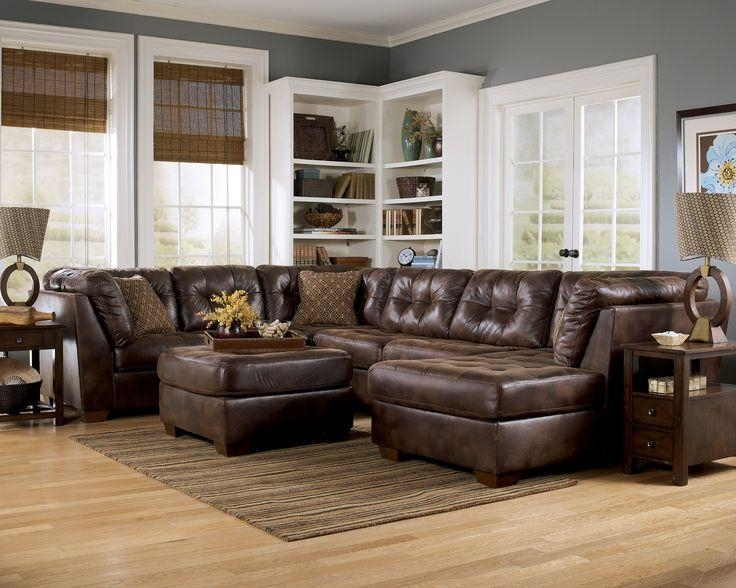 23 Best Leather Sectional Images On Pinterest | Leather Sectionals Throughout Ashley Faux Leather Sectional Sofas (Image 1 of 20)