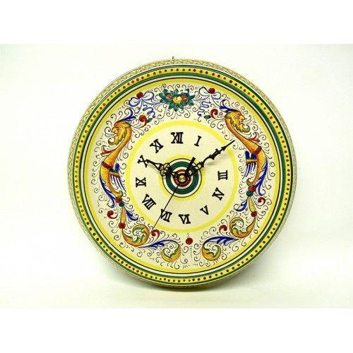 23 Best Majolica Images On Pinterest | Italian Pottery, Ceramic Within Italian Ceramic Wall Clock Decors (View 11 of 22)