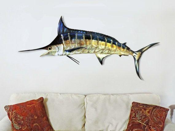23 Best Metal Wall Art Sculptures Images On Pinterest | Metal Pertaining To Stainless Steel Fish Wall Art (Image 1 of 20)