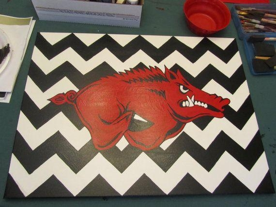 23 Best Razorbacks Images On Pinterest | Arkansas Razorbacks, Pigs Throughout Razorback Wall Art (Image 4 of 20)