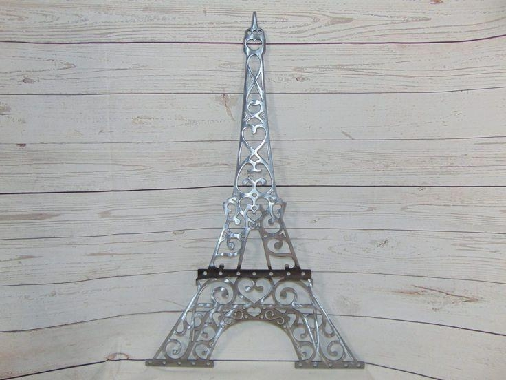 231 Best Metal Wall Art Images On Pinterest | Metal Walls, Metal Within Eiffel Tower Metal Wall Art (Image 2 of 20)