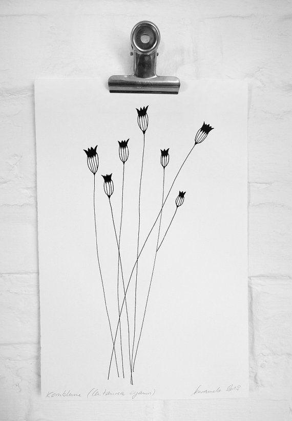237 Best Tattoo Inspirations Images On Pinterest | Tatoos, Acorn Pertaining To Botanical Prints Etsy (Image 5 of 20)
