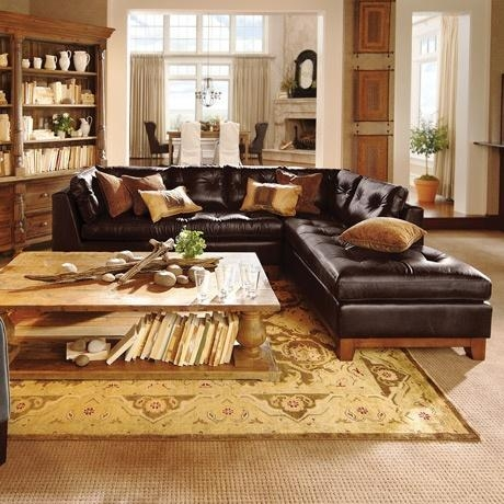 24 Best Sectionals Images On Pinterest | Leather Sectional Sofas Within Arhaus Leather Sofas (Image 2 of 20)