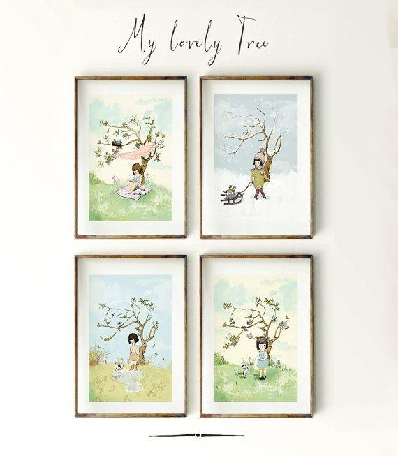 247 Best I Made Illustrations Images On Pinterest | Kid Wall Art With Regard To Seasonal Wall Art (Image 3 of 20)