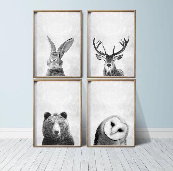 25+ Best Animal Print Nursery Ideas On Pinterest | Animal Print Inside Animal Wall Art (View 13 of 20)