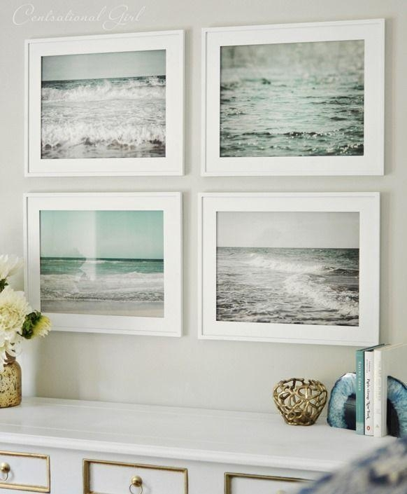25+ Best Beach Wall Decor Ideas On Pinterest | Beach Bedroom Decor In Beach Theme Wall Art (Image 1 of 20)