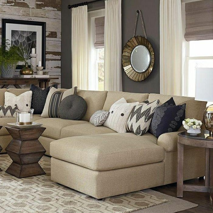 25+ Best Beige Sofa Ideas On Pinterest | Beige Couch, Green Living Intended For Beige Sofas (Photo 13 of 20)
