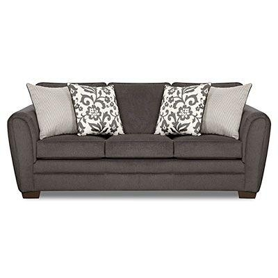 25+ Best Charcoal Sofa Ideas On Pinterest | Charcoal Couch, Dark With Big Lots Simmons Sectional Sofas (Image 4 of 20)