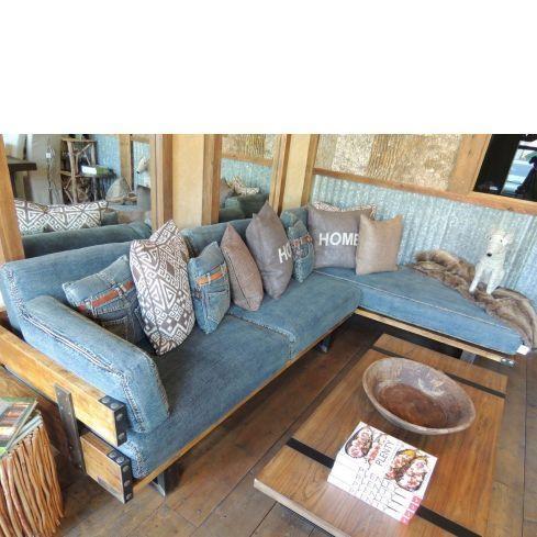 25 Best Denim Ideas Images On Pinterest | Denim Ideas, Denim Sofa Within Blue Denim Sofas (View 19 of 20)