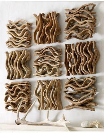 25+ Best Driftwood Art Ideas On Pinterest | Driftwood Crafts Inside Driftwood Wall Art For Sale (Image 1 of 20)