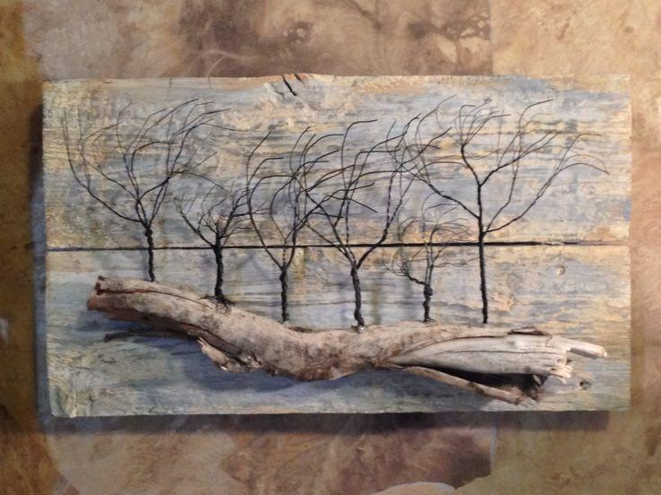 25+ Best Driftwood Art Ideas On Pinterest | Driftwood Crafts Intended For Driftwood Wall Art (Image 2 of 20)
