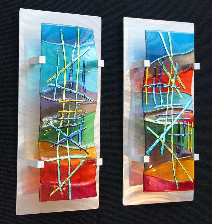 25+ Best Glass Wall Art Ideas On Pinterest | Glass Art, Fused In Modern Glass Wall Art (Image 1 of 20)
