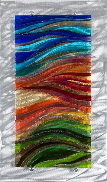 25+ Best Glass Wall Art Ideas On Pinterest   Glass Art, Fused Regarding Fused Glass Wall Art Panels (View 20 of 20)
