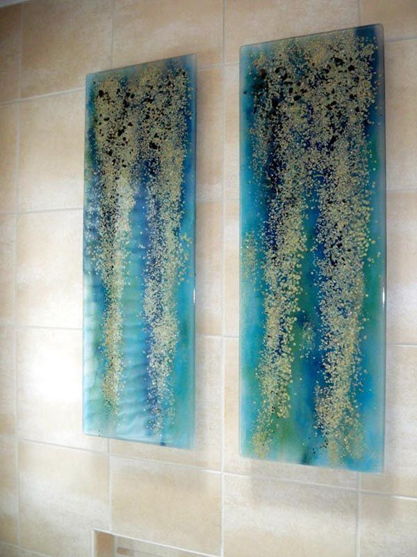 25+ Best Glass Wall Art Ideas On Pinterest | Glass Art, Fused Regarding Fused Glass Wall Art Panels (Image 2 of 20)
